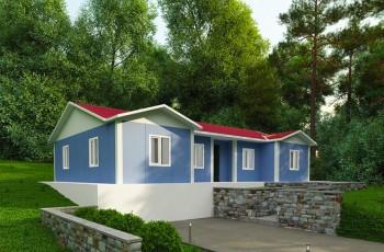 129 m²  3+1 Prefabrik Ev