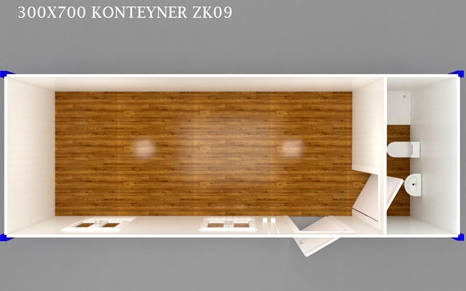ZK-09 KONTEYNER - PLAN
