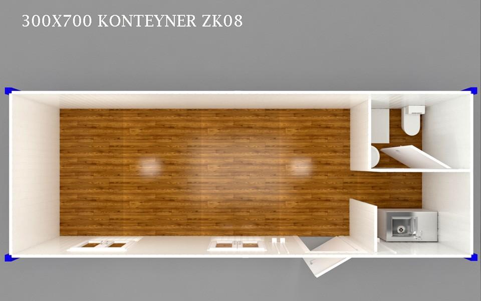 ZK-08 KONTEYNER - PLAN