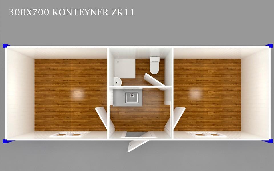 ZK-11 KONTEYNER - PLAN