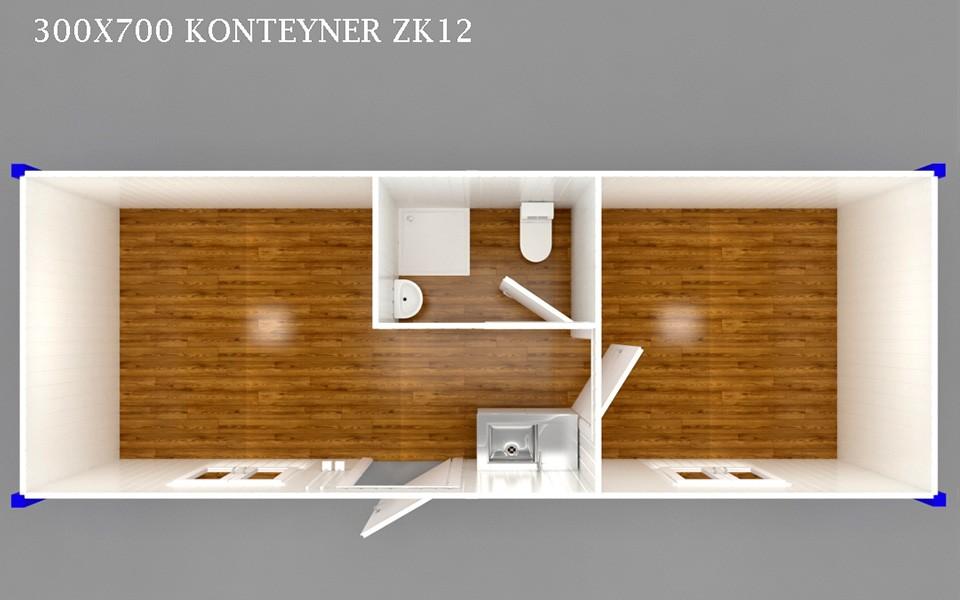 ZK-12 KONTEYNER - PLAN
