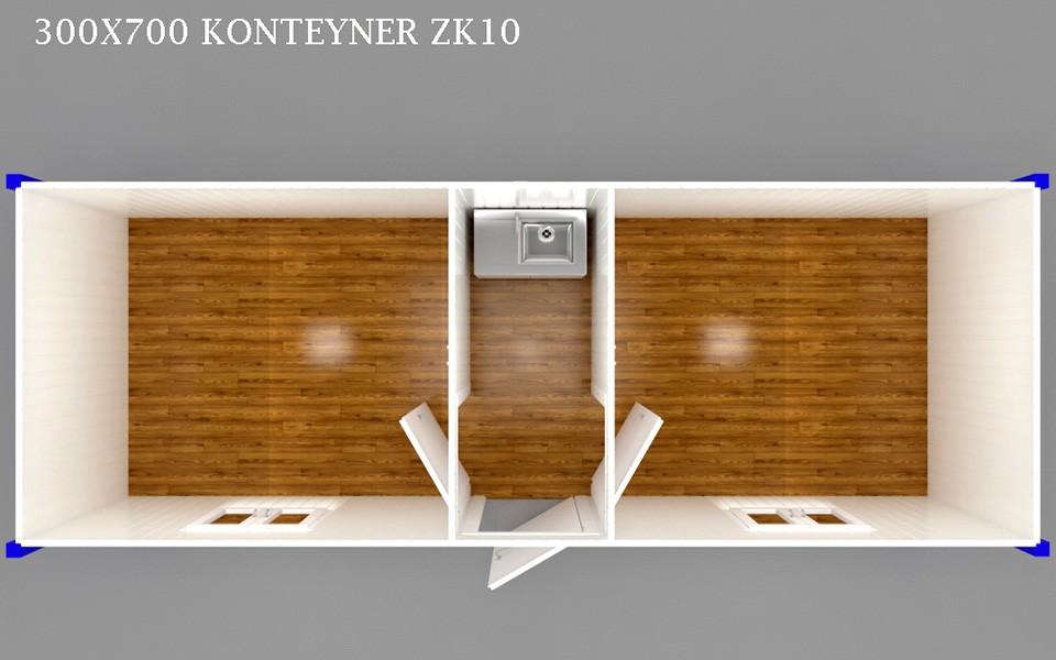 ZK-10 KONTEYNER - PLAN